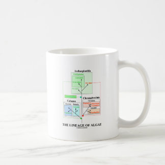 The Lineage Of Algae Mugs