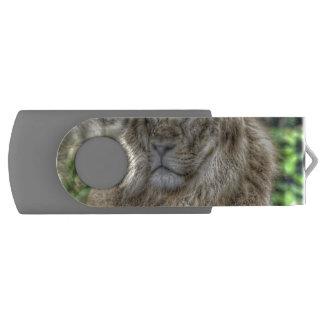 The Lion 115 Swivel USB 2.0 Flash Drive