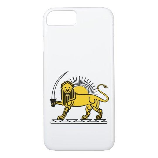 The Lion and Sun, Iran emblem iPhone 8/7 Case