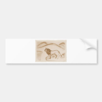 The Lion Bumper Stickers