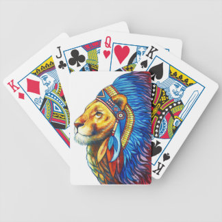 The Lion Chief Bicycle Playing Cards