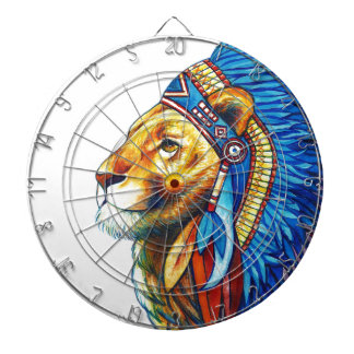 The Lion Chief Dartboard