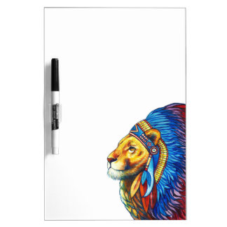 The Lion Chief Dry Erase Board