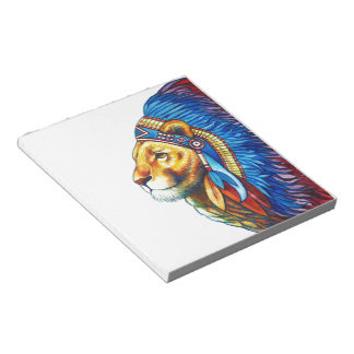 The Lion Chief Notepad