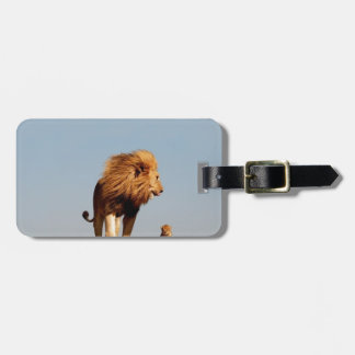 The Lion King ( Adult Lion and Cub) Luggage Tag
