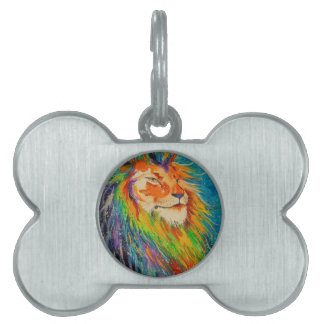 The lion king pet tag
