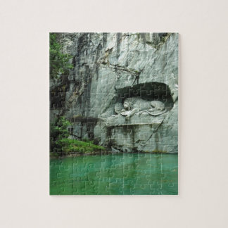 The Lion Monument in Lucerne Jigsaw Puzzle