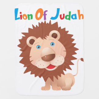 The Lion Of Judah Baby Blankets