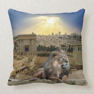 The Lion Of Judah Cushion
