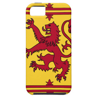 The Lion Rampant of Scotland iPhone 5 Cases