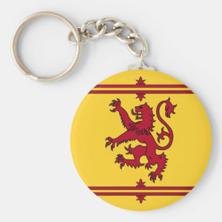 The Lion Rampant of Scotland Key Ring