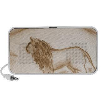 The Lion Notebook Speaker