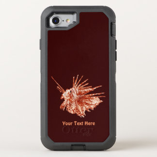 The Lionfish OtterBox Defender iPhone 7 Case