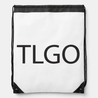 The List Goes On.ai Drawstring Backpack