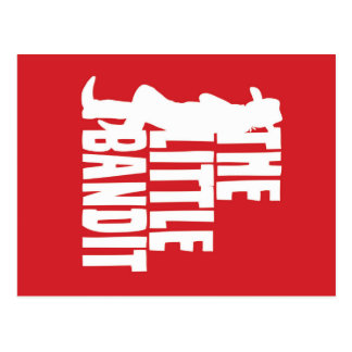 The Little Bandit Logo Postcard