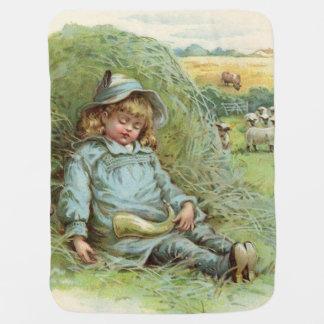 The Little Boy Blue Nursery Rhyme Swaddle Blankets