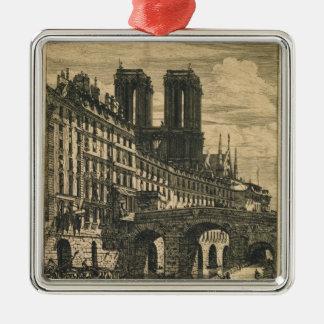 The Little Bridge, 1850 Christmas Ornament