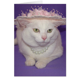 The Little Cat Who Wanted to go to Church Easter Greeting Card