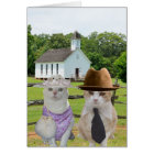 The Little Cats Who Wanted to go to Church Easter Card