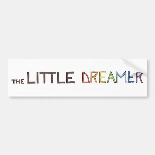 The Little Dreamer Rainbow Line Logo Bumper Sticker
