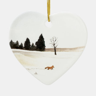 The Little Fox Christmas Ornament