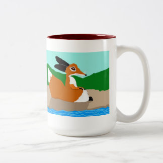 The Little Foxes Two-Tone Mug