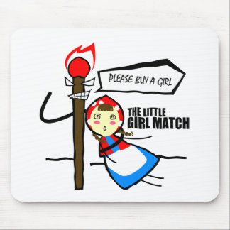 the little girl match TEST Mouse Pad