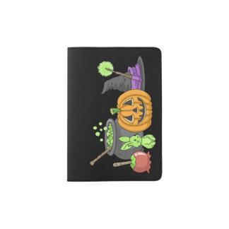 The Little Green Halloween Bunny Passport Holder