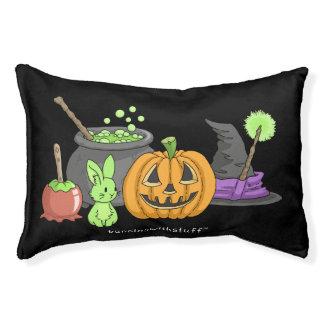 The Little Green Halloween Bunny Pet Bed