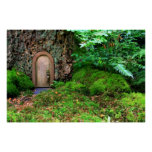 The little magic tree wood house by healing love