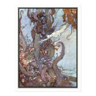 The Little Mermaid by Edmund Dulac Postcard