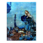 The Little Mermaid vintage art postcard 2