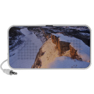 The Little Missouri River in winter in Portable Speakers