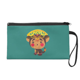 The Little Monkey King Wristlet Clutches