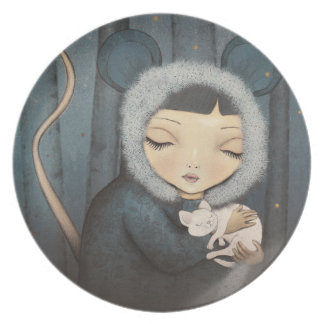 The Little Mouse Princess Plate