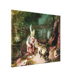 The Little Old Man of the Woods Mural Vintage Canvas Prints