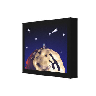 "THE LITTLE PRINCE after ""Le Petit Prince - Canvas Stretched Canvas Prints"