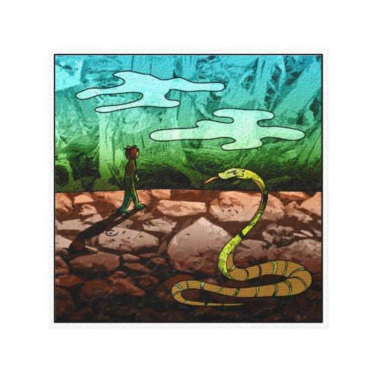 The Little Prince - Illustration Canvas Print