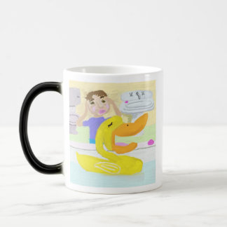 The Little Rubber Ducky Who Sang Opera Morphing Mug