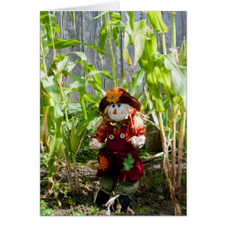 The Little Scarecrow Card