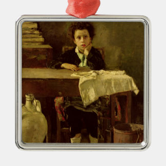 The Little Schoolboy, or The Poor Schoolboy Christmas Ornament
