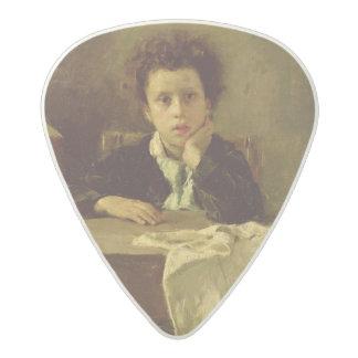 The Little Schoolboy, or The Poor Schoolboy Acetal Guitar Pick