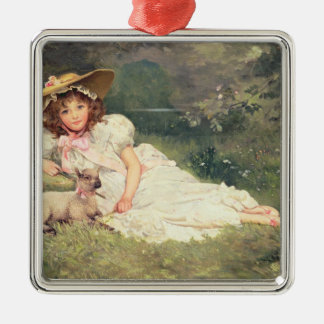 The Little Shepherdess Christmas Ornament