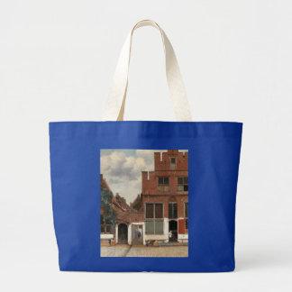 The Little Street by Johannes Vermeer Canvas Bag