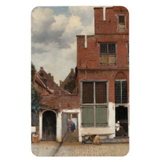 The Little Street by Johannes Vermeer Magnet