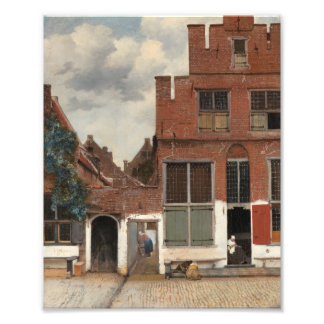 The Little Street by Johannes Vermeer Photographic Print
