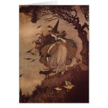 The Little Witch Greeting Card