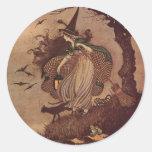 The Little Witch Round Sticker