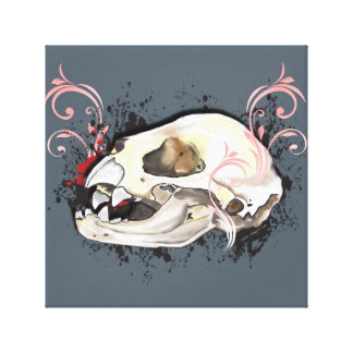 The Littlest Vampire Canvas Print