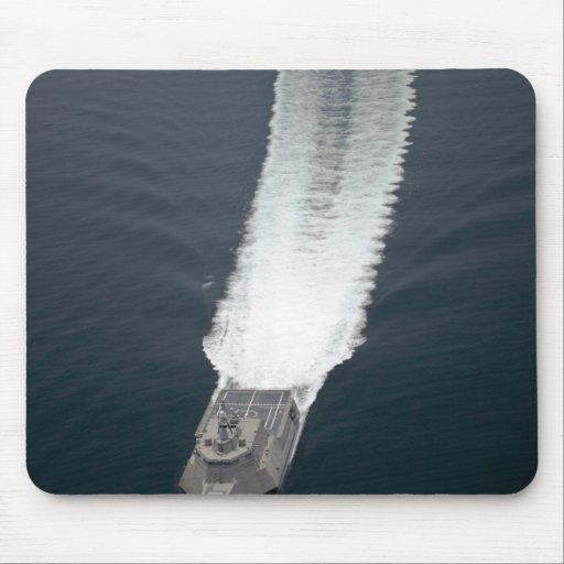 The littoral combat ship Independence 2 Mouse Pad
